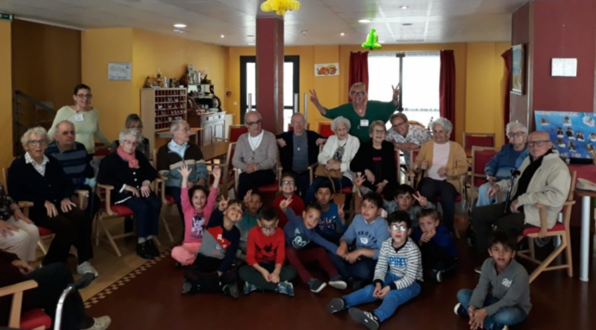 Rencontre intergenerationnelle